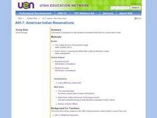 American Indian Reservations Lesson Plan