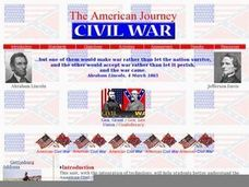 American Journey: The Civil War Lesson Plan