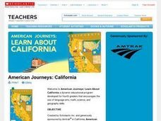 American Journeys: California Lesson Plan