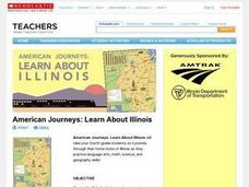 American Journeys: Learn About Illinois Lesson Plan