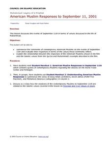 American Muslim Responses to September 11, 2001 Lesson Plan