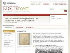 """An Expression of the American Mind"": Understanding the Declaration of Independence Lesson Plan"