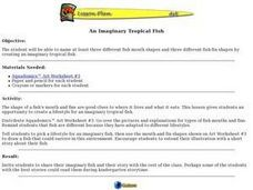 An Imaginary Tropical Fish Lesson Plan