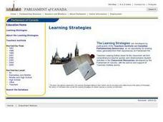 An Introduction to Immigration and the Canadian Political System Lesson Plan