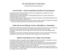 An Introduction to Microbes - Biology Teaching Thesis Lesson Plan