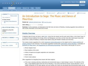 An Introduction to Sega: The Music and Dance of Mauritius Lesson Plan