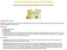 An Introductory Lesson on Maps Lesson Plan