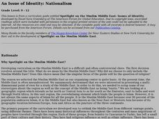 An Issue of Identity: Nationalism Lesson Plan