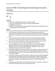 identifying a persuasive essay