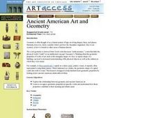 Ancient American Art and Geometry Lesson Plan