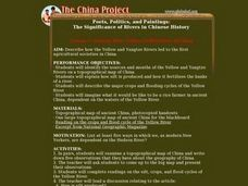 ANCIENT RIVER VALLEY CIVILIZATIONS OF CHINA Lesson Plan