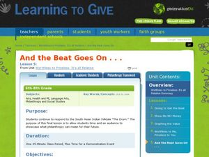 And The Beat Goes On...! Lesson Plan