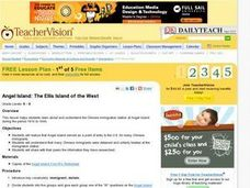 Angel Island: The Ellis Island of the West Lesson Plan