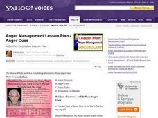 Anger Management Lesson Plan
