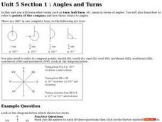 Angles and Turns Worksheet