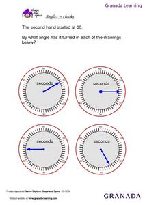 Angles - Clocks Lesson Plan