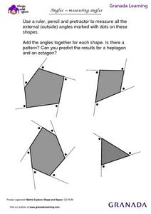 Angles - Measuring Angles Lesson Plan