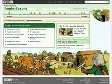 Anglo-Saxons Activities & Project