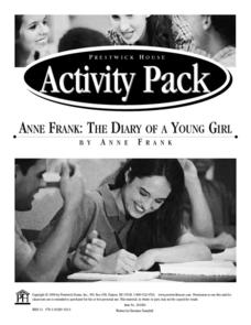 anne frank the diary of a young girl 5th 8th grade worksheet lesson planet. Black Bedroom Furniture Sets. Home Design Ideas