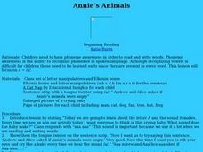 Annie's Animals Lesson Plan