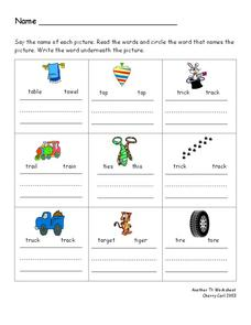 Another t worksheet Worksheet