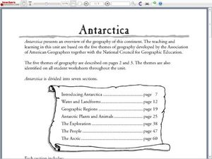 Antarctica Worksheet