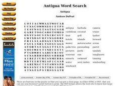 Antigua Worksheet