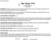 Any Town, USA Lesson Plan