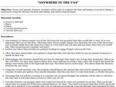 Anywhere In The USA Lesson Plan