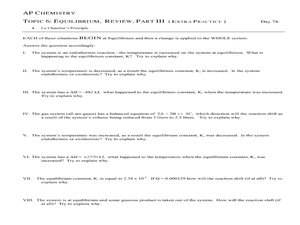 Printables Equilibrium Constant Worksheet equilibrium constant worksheet davezan