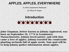 Apples, Apples, Everywhere Lesson Plan