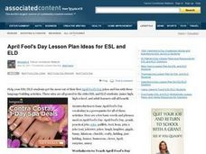 April Fool's Day Lesson Plan