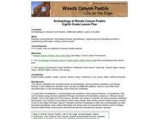 Archaeology at Woods Canyon Pueblo Lesson Plan