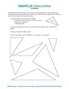 Archimedes Worksheet