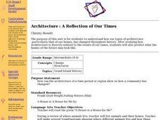 Architecture : A Reflection of Our Times Lesson Plan