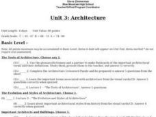 Architecture Lesson Plan