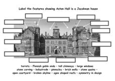 Architecture of Aston Hall, a Jacobean House Worksheet