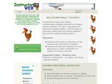 "Are Chickens Really ""Chicken""? Lesson Plan"