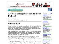Are You Being Poisoned by Your Dishes? Lesson Plan