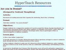 Are you in Denial? Lesson Plan