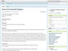 Area of Composite Polygon Lesson Plan