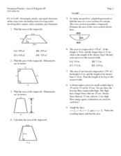 Area of Polygons #5 Lesson Plan