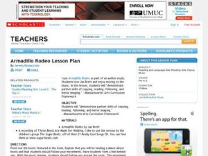 Armadillo Rodeo Lesson Plan Lesson Plan