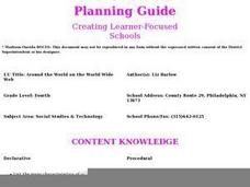Around the World on the World Wide Web Lesson Plan