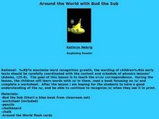 Around the World with Bud the Sub Lesson Plan