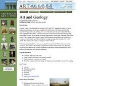 Art and Geology Lesson Plan