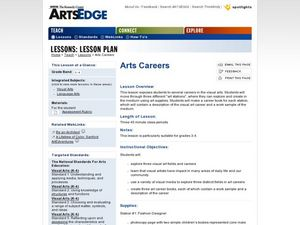 Art Careers Lesson Plan