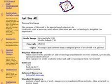 Art For All Lesson Plan