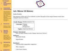 Art: Mirror Of History Lesson Plan