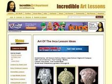 Art of the Inca Lesson Plan
